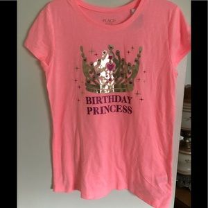 Girls HAPPY BIRTHDAY T-Shirt